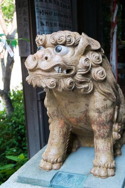 今風な狛犬「吽像」