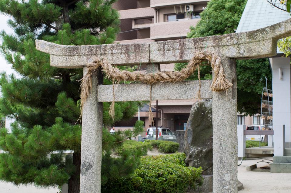 金輪神社の鳥居