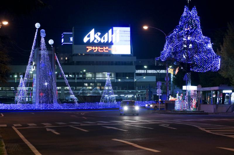 徳山駅正面から2